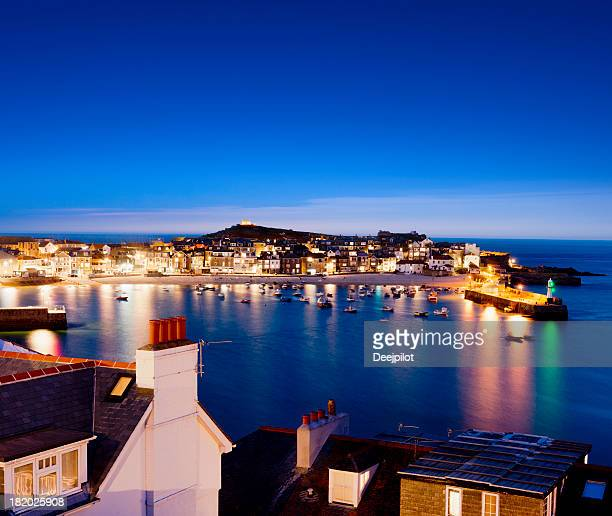 St St Ives Fishing Village in Cornwall