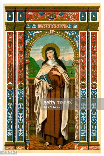 St Theresa of Avila 1886 Theresa of Avila was a Spanish mystic and saint who reformed the Carmelite order Published in Butler's Lives of the Saints...