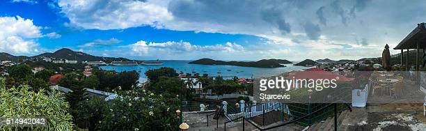 St. Thomas - Virgin Islands Panoramic View