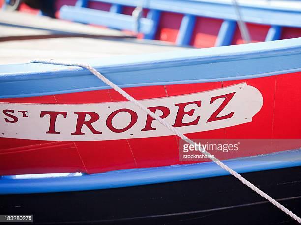 サントロペのボート