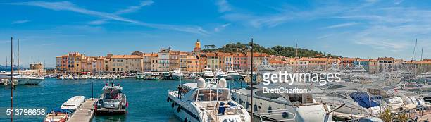 St Tropez Harbour Panorama