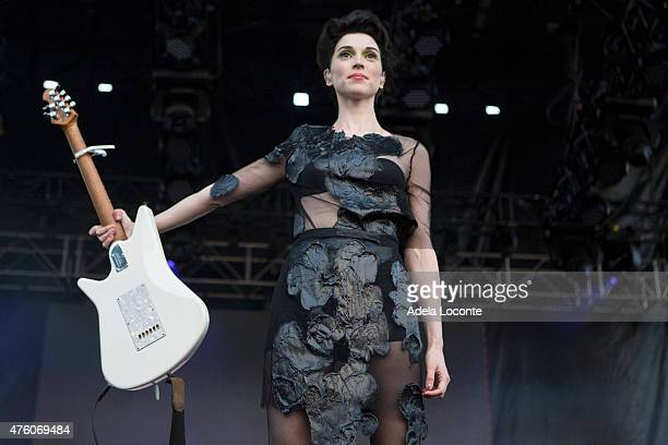 St Vincent at Governors Ball Music Festival Day 1 at Randall's Island on June 5 2015 in New York City