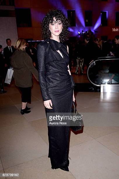 St Vincent attends Royal Academy America Gala Honoring Norman Foster and Jenny Holzer at Hearst Tower on November 15 2016 in New York City