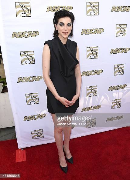 St Vincent attends the 32nd Annual ASCAP Pop Music Awards held at The Loews Hollywood Hotel on April 29 2015 in Hollywood California