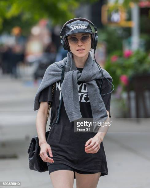 St Vincent is seen on May 30 2017 in New York City