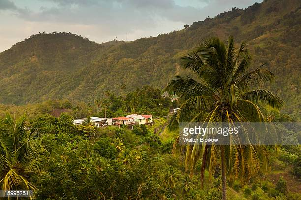 St. Vincent, mountain village  view