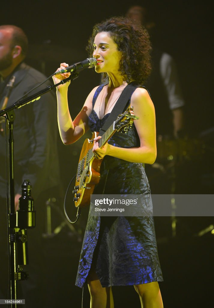 St. Vincent performs at Orpheum Theatre on October 15, 2012 in San Francisco, California.