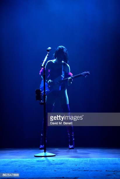 St Vincent performs at the Brixton Academy on October 17 2017 in London England