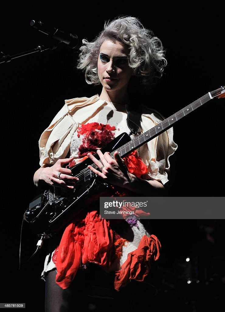 St. Vincent performs at The Fox Theatre on May 22, 2014 in Oakland, California.
