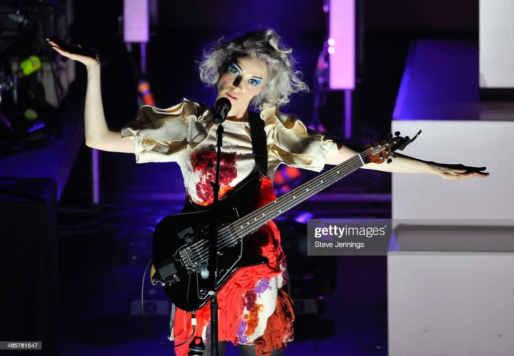 St Vincent performs at The Fox Theatre on May 22 2014 in Oakland California