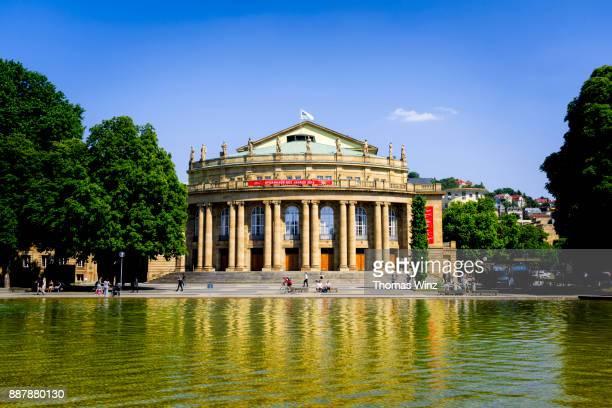 Staatsoper ( Opernhaus ) , State Opera in Stuttgart