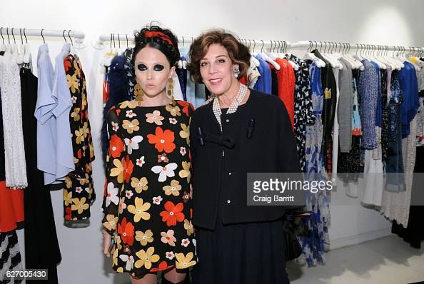 Stacey Bendet and Peggy Siegal attend alice olivia by Stacey Bendet x GOOD Foundation Toy Drive KickOff on November 30 2016 in New York City
