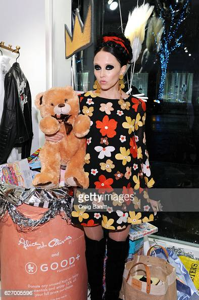 Stacey Bendet attends alice olivia by Stacey Bendet x GOOD Foundation Toy Drive KickOff on November 30 2016 in New York City