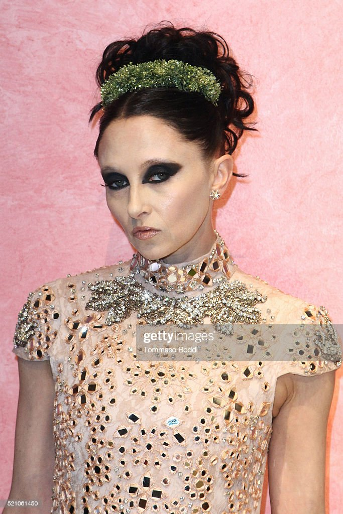 Stacey Bendet attends the alice + olivia By Stacey Bendet And Neiman Marcus Present See-Now-Buy-Now Runway Show at NeueHouse Los Angeles on April 13, 2016 in Hollywood, California.
