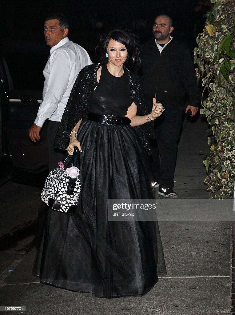 Stacey Bendet is seen at Chateau Marmont on April 27, 2013 in Los Angeles, California.