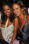 Stacey Dash and Lady Victoria Hervey during America Magazine Party Hosted by Damon Dash at The Concorde in Hollywood California United States