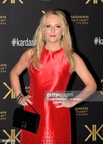 Stacey Jackson attending the Kardashian Kollection For Lipsy launch party at the Natural History Museum London