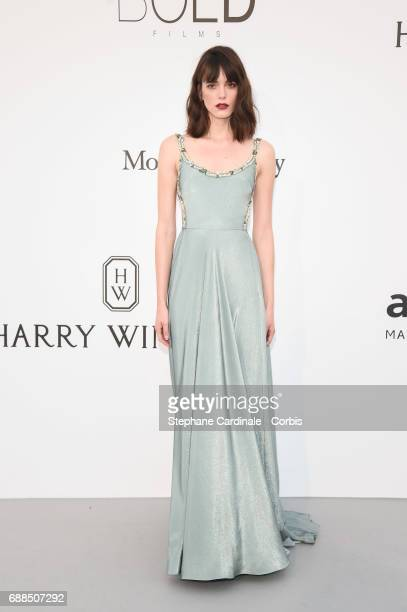 Stacey Martin arrives at the amfAR Gala Cannes 2017 at Hotel du CapEdenRoc on May 25 2017 in Cap d'Antibes France