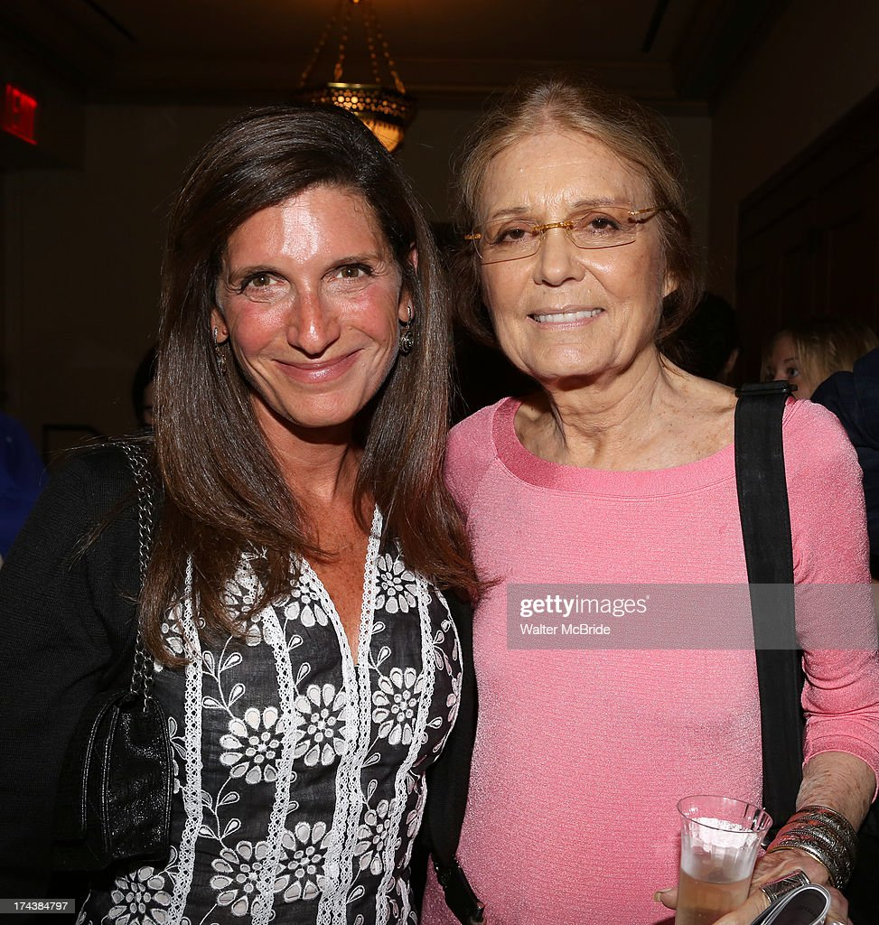 Stacey Mindich and <a gi-track='captionPersonalityLinkClicked' href=/galleries/search?phrase=Gloria+Steinem&family=editorial&specificpeople=213078 ng-click='$event.stopPropagation()'>Gloria Steinem</a> attend the Opening Night Performance Reception for the Encores! Off-Center Production of 'I'm Getting My Act Together And Taking It On The Road' Opening Night Reception at New York City Center on July 24, 2013 in New York City.