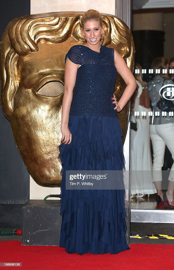 Stacey Soloman attends the British Academy Children's Awards at London Hilton on November 25, 2012 in London, England.