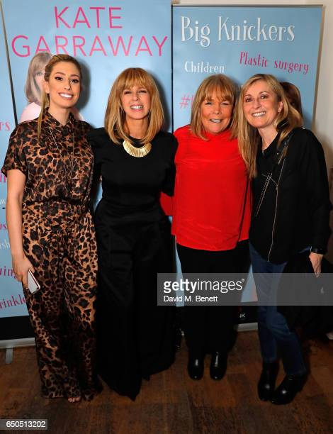 Stacey Solomon Kate Garraway Linda Robson and guest attendthe launch of Kate Garraway's new book 'The Joy Of Big Knickers ' at Waterstones Piccadilly...