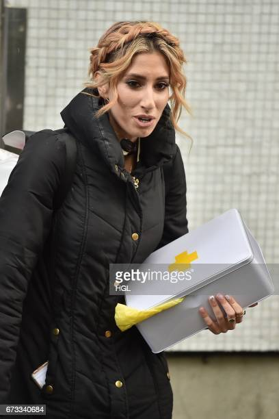 Stacey Solomon seen at the ITV Studios on April 26 2017 in London England