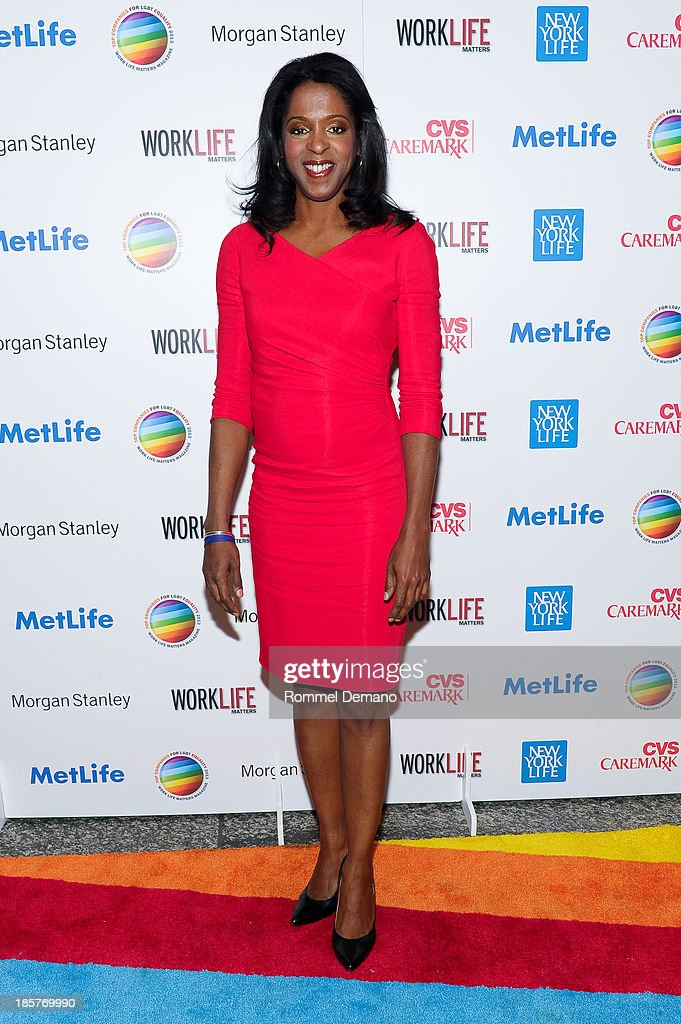 Stacey Tisdale attends the 11th Annual Work Life Matters gala at Club 101 on October 24, 2013 in New York City.