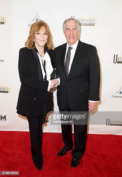 Stacey Weitzman and husband Actor Henry Winkler attends the 7th Annual Unstoppable Foundation Gala at JW Marriott Los Angeles at LA LIVE on March 19...