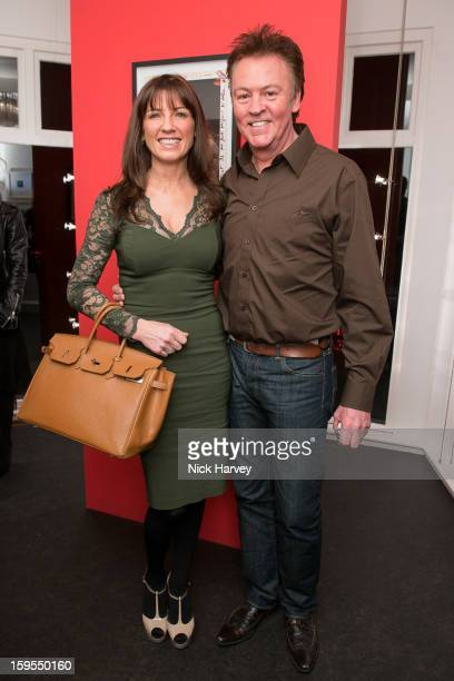 Stacey Young and Paul Young attends the private view of Bruno Bisang 30 Years of Polaroids at The Little Black Gallery on January 15 2013 in London...