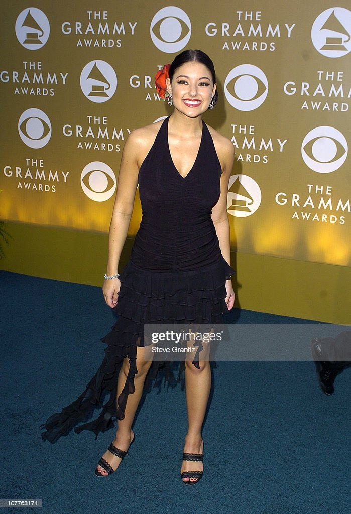 <a gi-track='captionPersonalityLinkClicked' href=/galleries/search?phrase=Stacie+Orrico&family=editorial&specificpeople=215139 ng-click='$event.stopPropagation()'>Stacie Orrico</a> during The 46th Annual GRAMMY Awards - Arrivals at Staples Center in Los Angeles, California, United States.