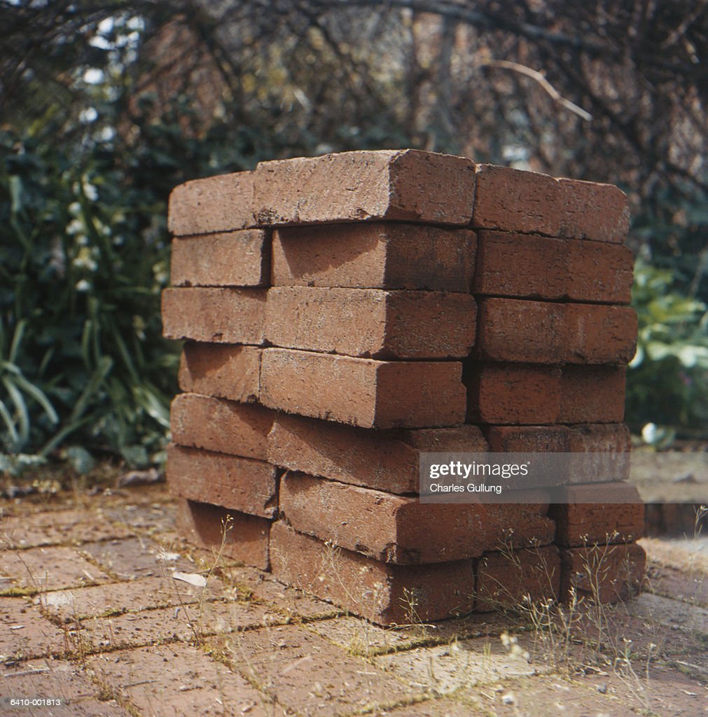 Stack of Bricks : Stock Photo