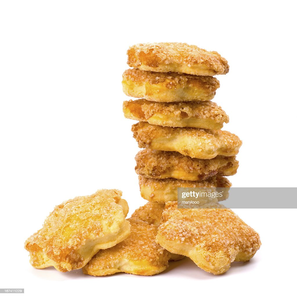 Stapel von cookies : Stock-Foto
