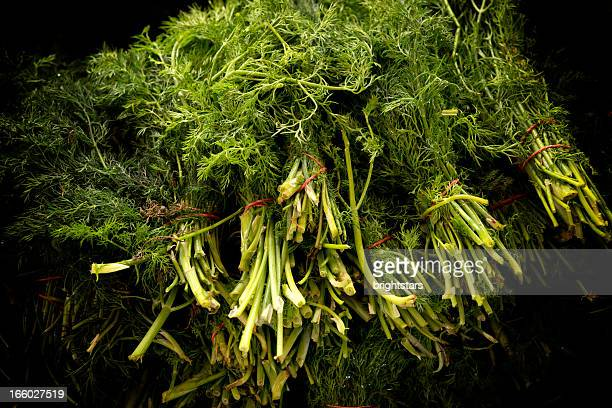 Stack of dill