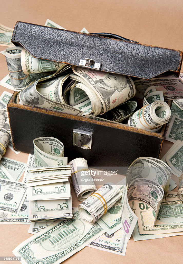 Stack of Dollar Bills : Stock Photo