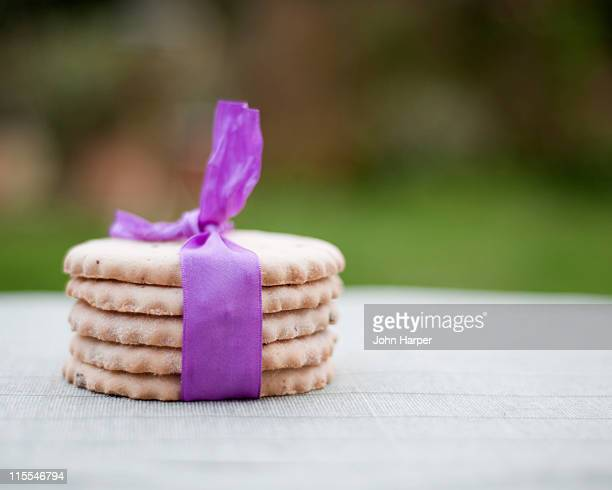 Stack of Easter Biscuits