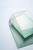 Stack of Glass Panels