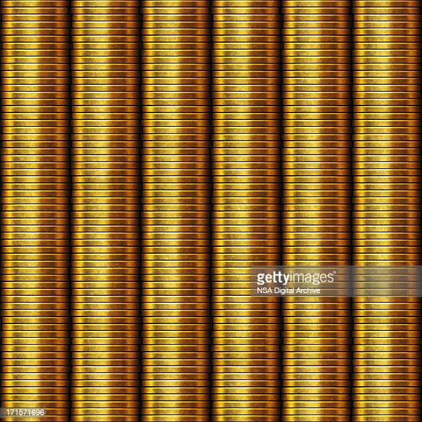 Stack of golden coins | Finance and Business
