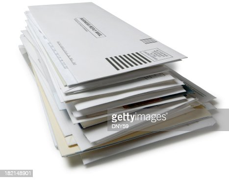 Stack of Mail 2