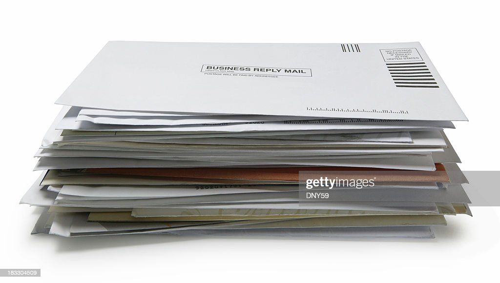 Stack of Mail 3