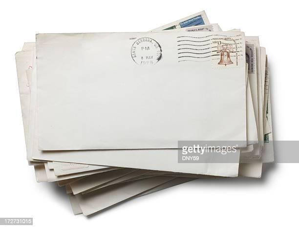 Stapel von Post