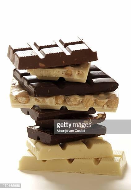 チョコレートのタワー