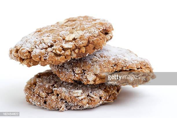 スタックの「モラセス」オートミールのクッキー