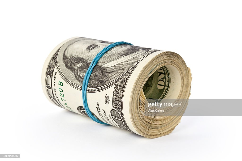 stack of money : Stock Photo