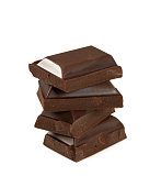 stack of of chocolate