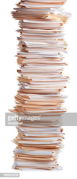 Stack of Office Work