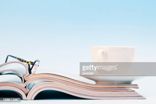 Stack of publications