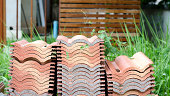 stack of roof tile