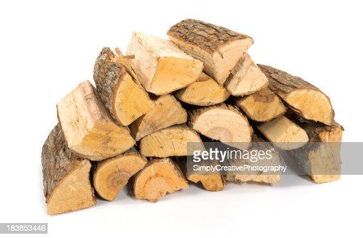 スタックの薪のスプリット