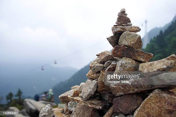 Stack of stone