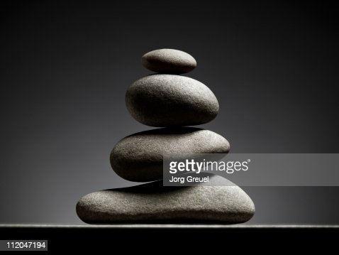 A stack of stones